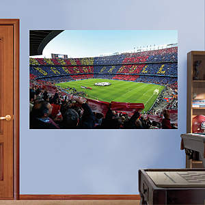 FC Barcelona Stadium Mural Fathead Wall Decal